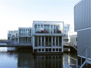 Floating Home Glass IJburg Amseterdam