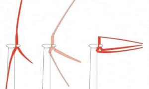 Flexible wind turbine blades