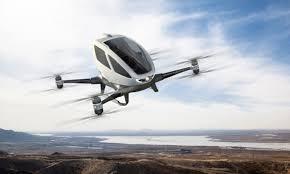 Flying passenger drone