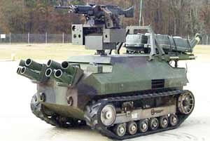 Marine Corps Robot Land vehicle
