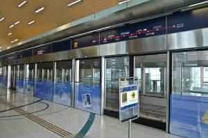 Dubai Transit Station Platform Safety Doors